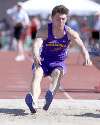 MICHAEL G. TAYLOR- 06-02-17 OHSAA State Track & Field Championships. D3 Boys long jump final,Champion's Noah Bayus finishes 5th with a jump of 22-03.75 ft.