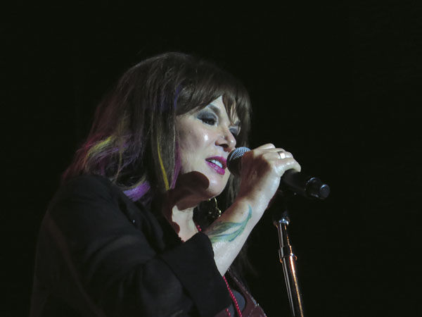 "Special to the Tribune Chronicle / Bob Jadloski  Ann Wilson of Heart opened her Packard  Music Hall concert Saturday with The Who's ""The Real Me"" before performing a mix of reworked Heart favorites, solo material and covers of Yes, Jimi Hendrix and others."