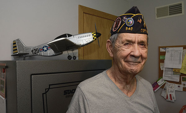 Veteran George Holko of Howland served in the U.S. Air Force. by R. Michael Semple