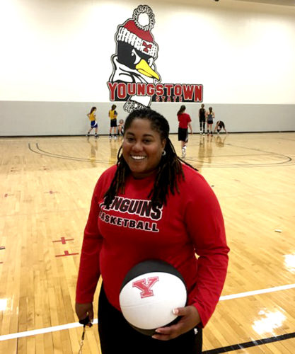 Tribune Chronicle / John Vargo Courtney Davidson returned to Youngstown State to be an assistant coach.