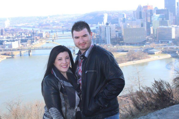 Lisa Marie Rado and Craig Pellegrini