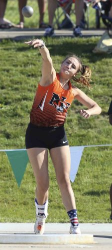 Tribune Chronicle file / Michael Taylor Newton Falls' Izzy Kline has signed with Cincinnati for track and field.