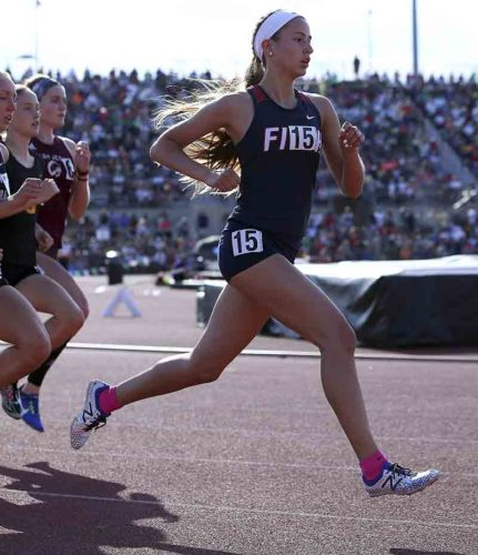 Tribune Chronicle file / Michael Taylor Fitch's Lauren Dolak runs at state. She signed to run for YSU next season.