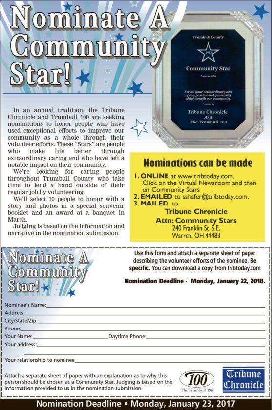 community star ad