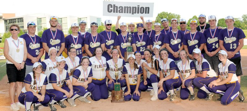 Tribune Chronicle file Champion's baseball and softball teams won state championships on the same day in early June.