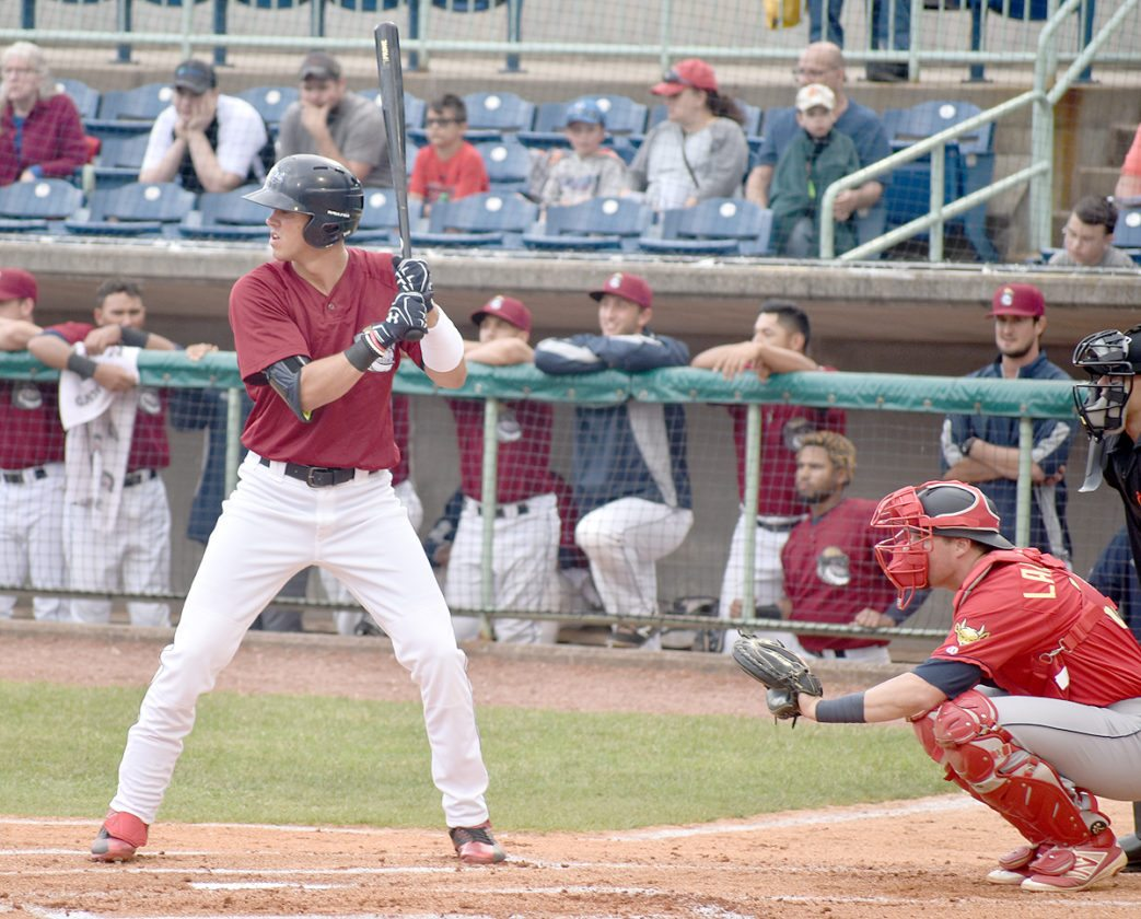 The Mahoning Valley Scrappers won the New York-Penn League's Pinckney Division.