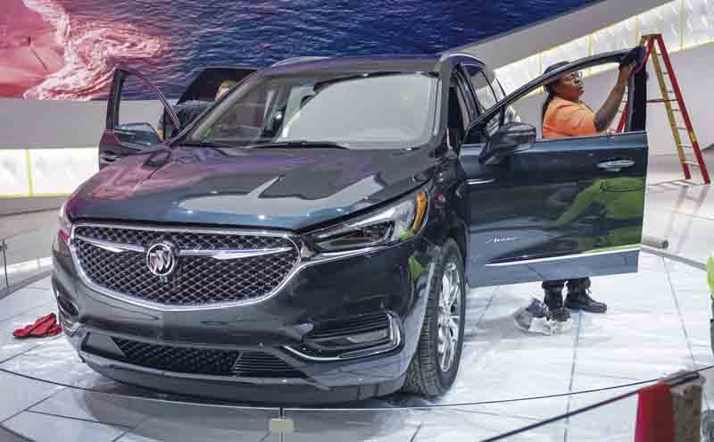 High tech cars revealed at global auto show