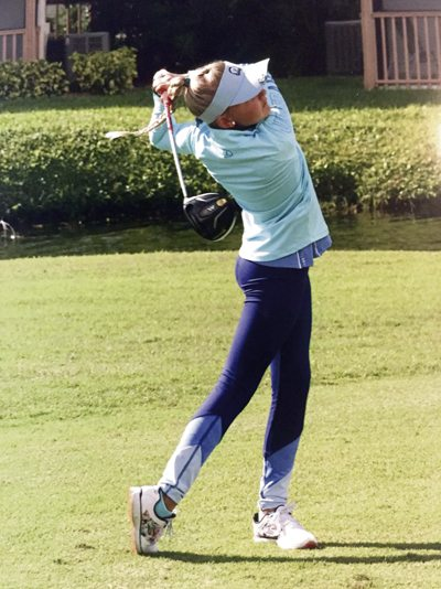 Special to Tribune Chronicle Howland native Gianna Clemente, 9, won the Honda Junior Classic earlier in January.