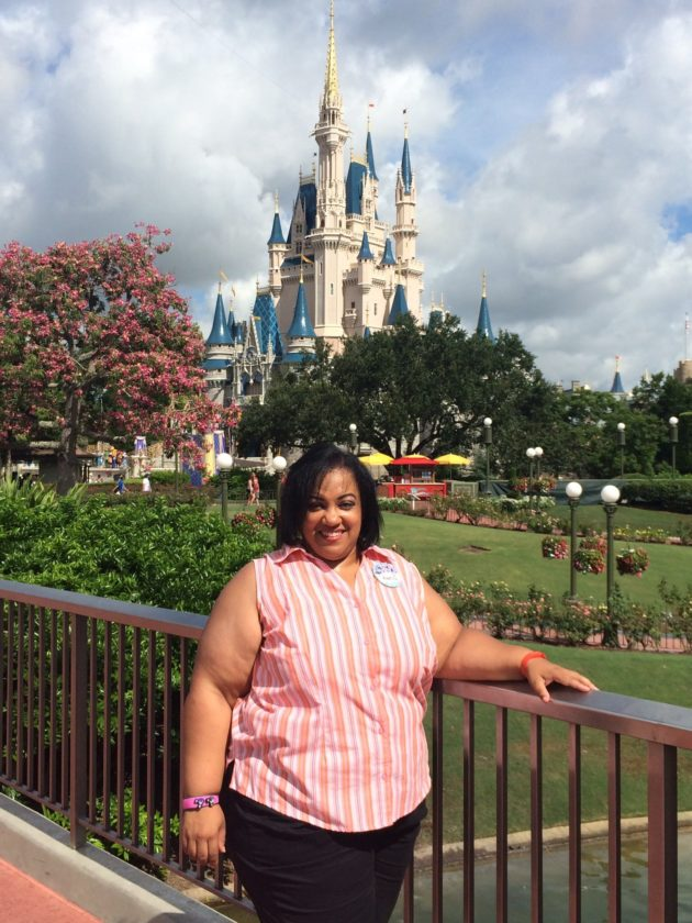 (Special to the Tribune Chronicle) After a decade of applying, Andrea Wells of Howland was one of 11 people worldwide added to the Disney Parks Moms Panel this year. She volunteers her time to help other families plan Disney vacations.