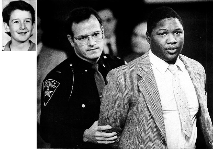 Tribune Chronicle file photo In this photo from March 1, 1986, Trumbull County Jail Administrator Lt. James Reiser moves convicted killer Danny Lee Hill, then 18, out of the Trumbull County Courthouse after he was sentenced to death for the murder of Raymond Fife, 12, at left. An appeals court just overturned Hill's death sentence.