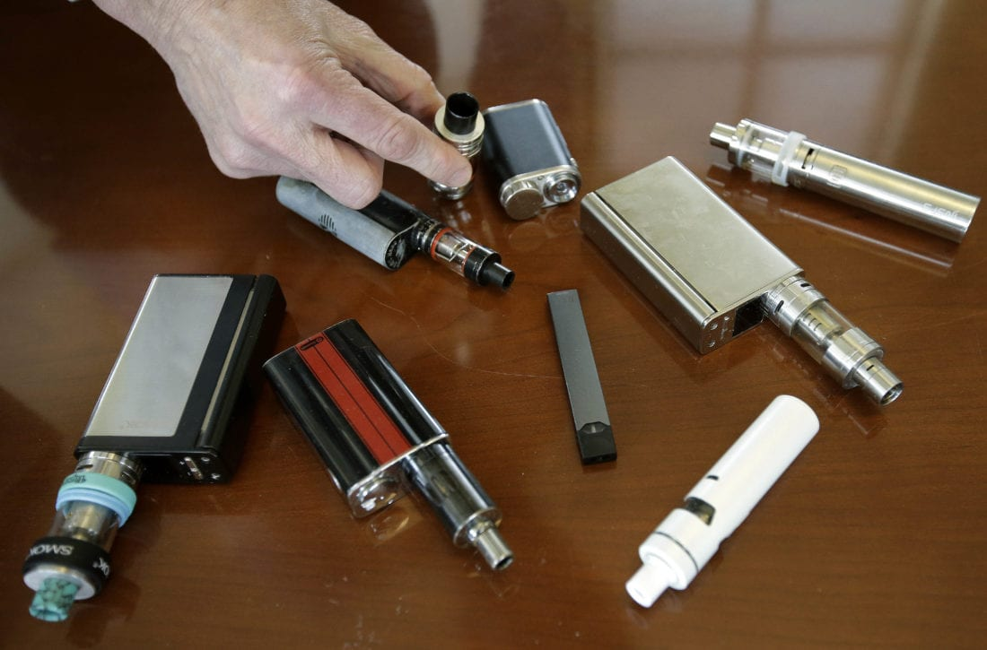 Teen vaping continues to rise at an alarming rate