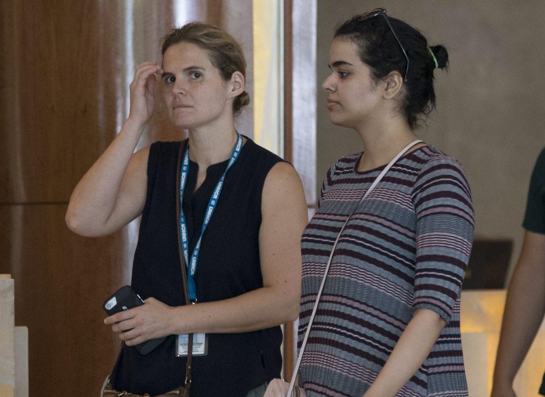 Canada grants asylum to Saudi woman in Thailand