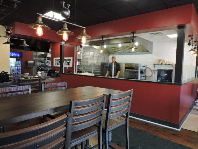 Vocelli Pizza General Manager Kenny Brewer is gearing up for the longtime business' grand re-opening on Wednesday at its Sunset Boulevard location. Vocelli's has undergone major remodeling inside and now will offer sit-down dining, as well as pickup and delivery.  — Jody Wisbith