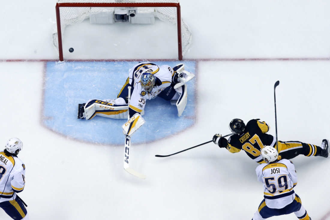 Penguins thrash Predators, take control of Stanley Cup Final