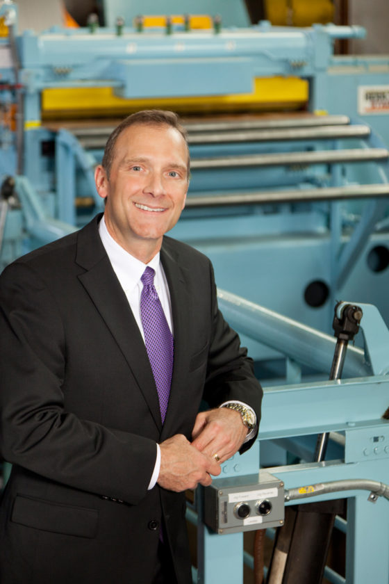 STATE HONOR — Joe Eddy, president and chief executive officer of Eagle Manufacturing of Wellsburg, is one of 10 West Virginia business leaders to be named a 2017 Sharp Shooter by West Virginia Executive magazine. -- Contributed