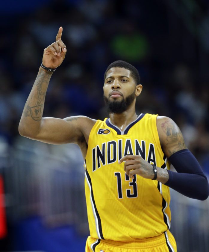 George informs Pacers he will leave in 2018