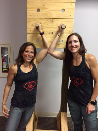 Marci Snyder Crawford, left, and Kelly Francy are two of the fitness instructors that will be helping area residents at the new Gem Fitness center located at 1101 Franklin Ave. in Toronto. The facility will hold its grand opening at 8 a.m. on Tuesday under the ownership of Gene Calabrese. — Julie Stenger