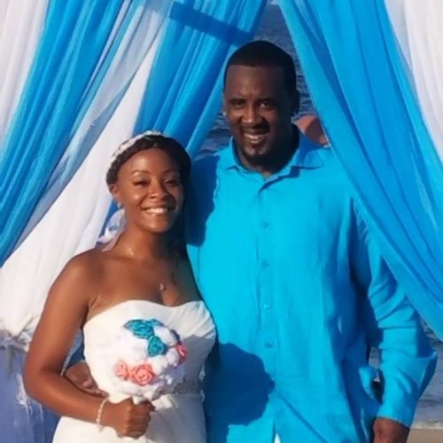 Mr. and Mrs. Clarence J. Mitchell Jr.