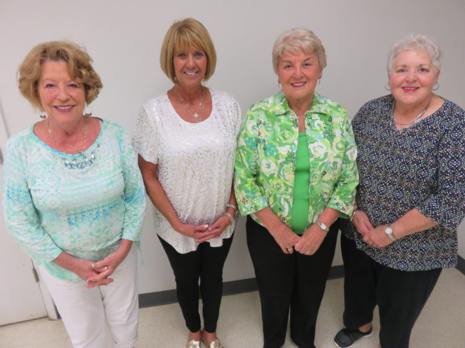 EVENT PLANNERS — Involved in planning the Ohio Valley Music Guild's evening of jazz Sept. 23 at the Steubenville Country Club are committee members, from left, Judi Gaynor, guild president; Debbie Elias, event chair; Lil Ferguson, membership chair; and Barbara Jean Losey. Joyce Ryan-Orlando also is on the committee. Open to the public, the event will feature the Paul Thompson Quartet and include cocktails, appetizers and dinner. Tickets are $40 per person. -- Janice Kiaski