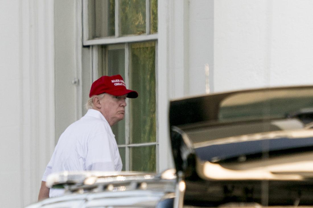 Pres. Trump says Corker