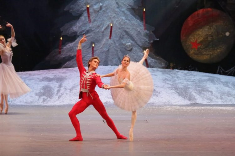 "NUTCRACKER PERFORMANCE — ""The Nutcracker"" is performed by the Bolshoi Ballet.  -- Contributed"
