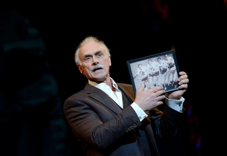 BLEIER RETURNS — Four-time Super Bowl champ Rocky Bleier brings his one-man show back to the O'Reilly.