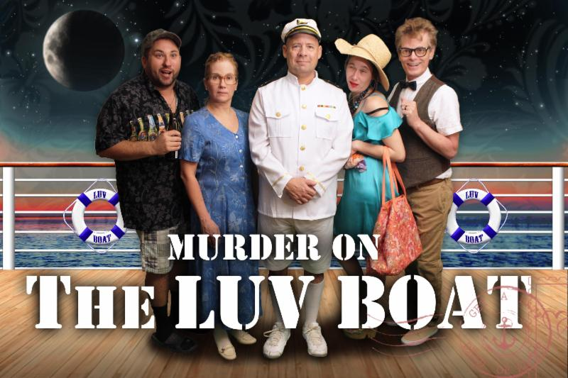 LOVE ON THE OCEAN U2014 The Cast Of U201cMurder On The Luv Boatu201d Includes