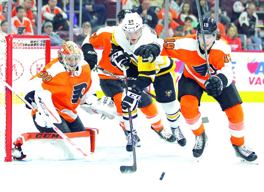 Pens visit Flyers tonight in Game Four