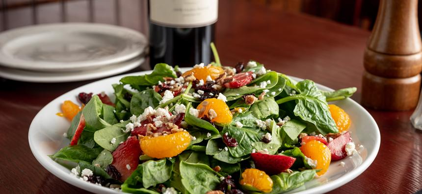 Sensational Spinach Salad