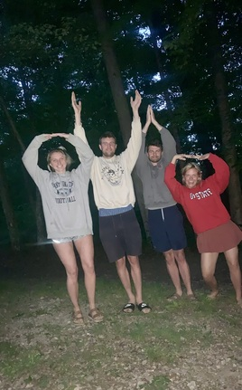 Camping with Ohio State pride