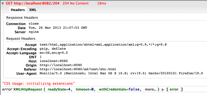13654 (Ajax response with status code 204 triggers fail() on cross ...