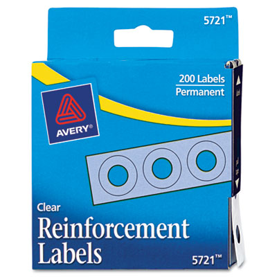 Avery Dispenser Pack Hole Reinforcements