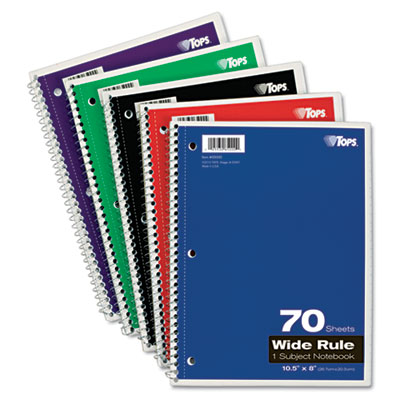 TOPS Coil-Lock Wirebound Notebooks