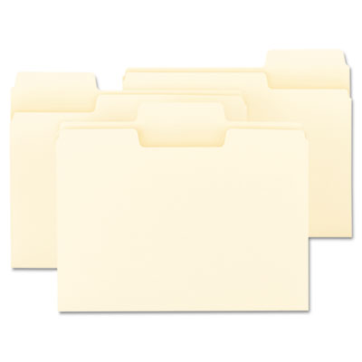 Smead SuperTab Reinforced Guide Height Top Tab Folders