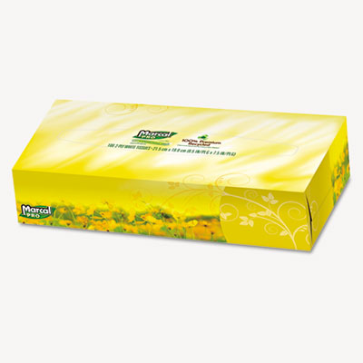 Marcal PRO 100% Premium Recycled Convenience Pack Facial Tissue