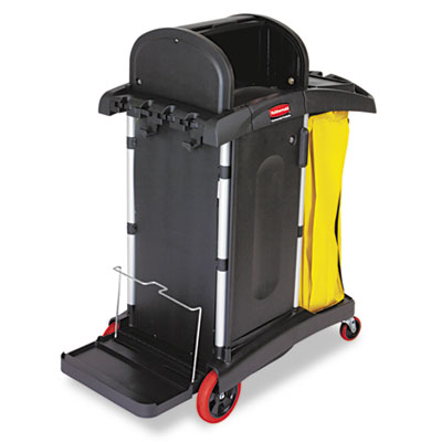 Rubbermaid Commercial High-Security Healthcare Cleaning Cart