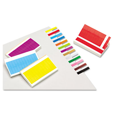 Redi-Tag Removable/Reusable Small Rectangular Page Flags