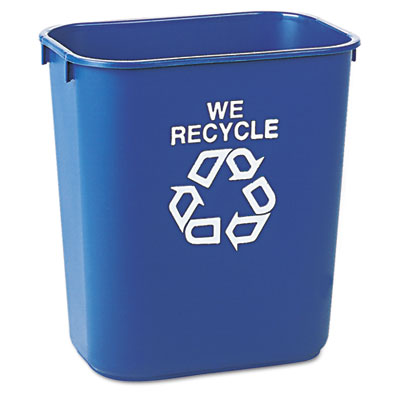Rubbermaid Commercial Deskside Recycling Container
