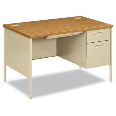 HON Metro Classic Series Single Pedestal Desk