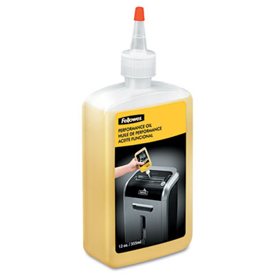 Fellowes Powershred Shredder Oil