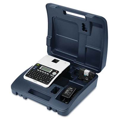 Brother P-Touch PT-2030AD Simply Professional Desktop Labeler with AC Adapter