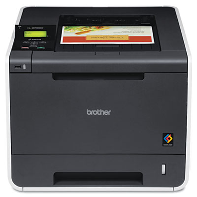 Brother HL-4570CDW Color Laser Printer with Wireless Networking and Duplex Printing