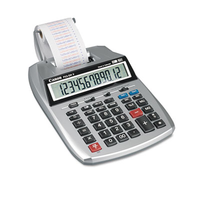 Canon P23-DHV 12-Digit Two-Color Printing Calculator