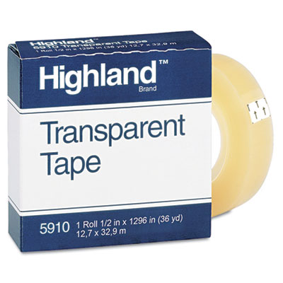 Highland Transparent Tape
