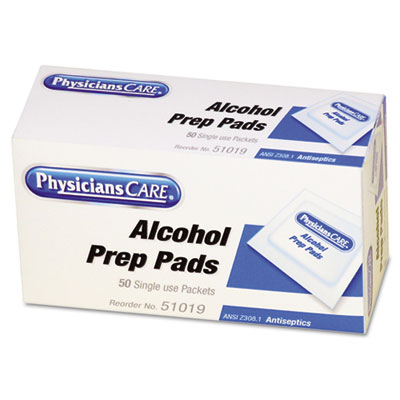 PhysiciansCare First Aid Refill Components�Antiseptic