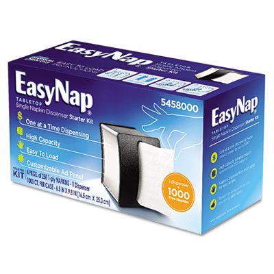 Georgia Pacific Professional EasyNap Tabletop Napkin Dispenser Starter Kit