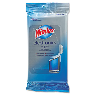 Windex Electronics-Cleaner Wipes