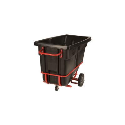 Rubbermaid Commercial Forkliftable Rotomolded Tilt Truck