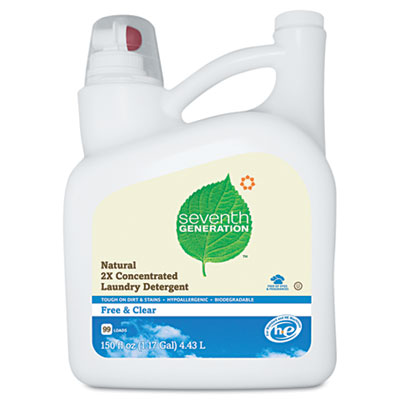 Seventh Generation Natural 2X Concentrate Laundry Detergent