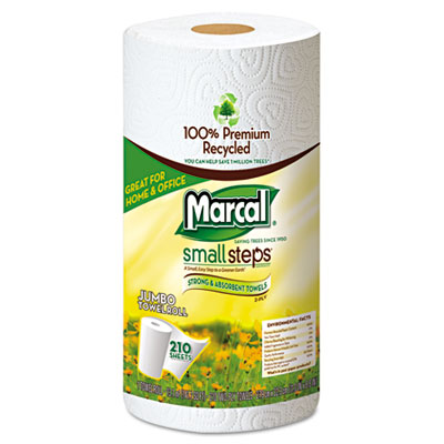Marcal Small Steps 100% Premium Recycled Mega Roll Paper Towel